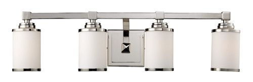 ELK Lighting 11253-4 Corrina Four Light Vanity In Polished Nickel