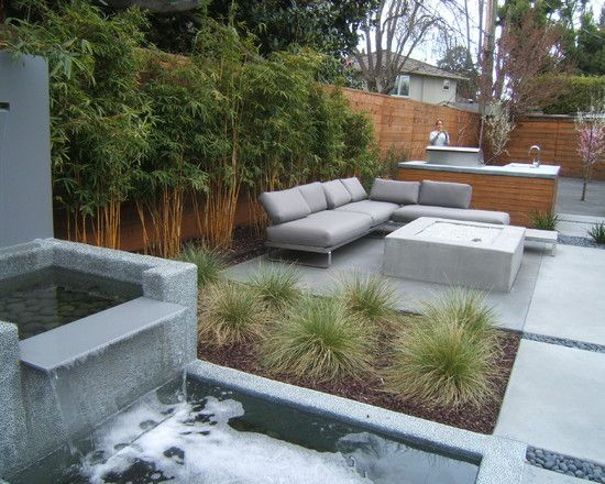 san francisco modern landscape fountains design  pictures  remodel  decor and ideas
