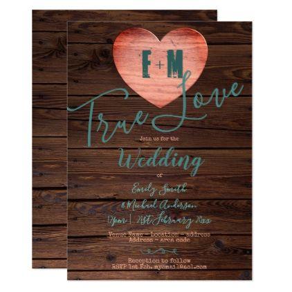 Rustic Turquoise Coral Wedding Invites Handwritten | Zazzle.com #turquoisecoralweddings