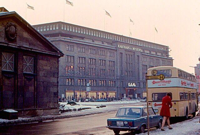 Haus Wien Ku/'Damm Berlin AK 60er Jahre ungelaufen neu