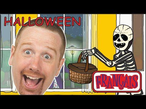 Les tours d'Halloween Les bonbons d'Halloween avec Steve