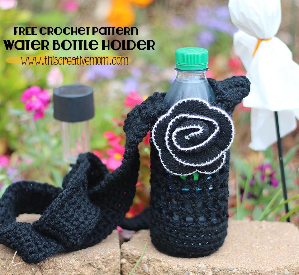 Water bottle holder free crochet pattern thiscreativemom water bottle holder free crochet pattern thiscreativemom bankloansurffo Choice Image