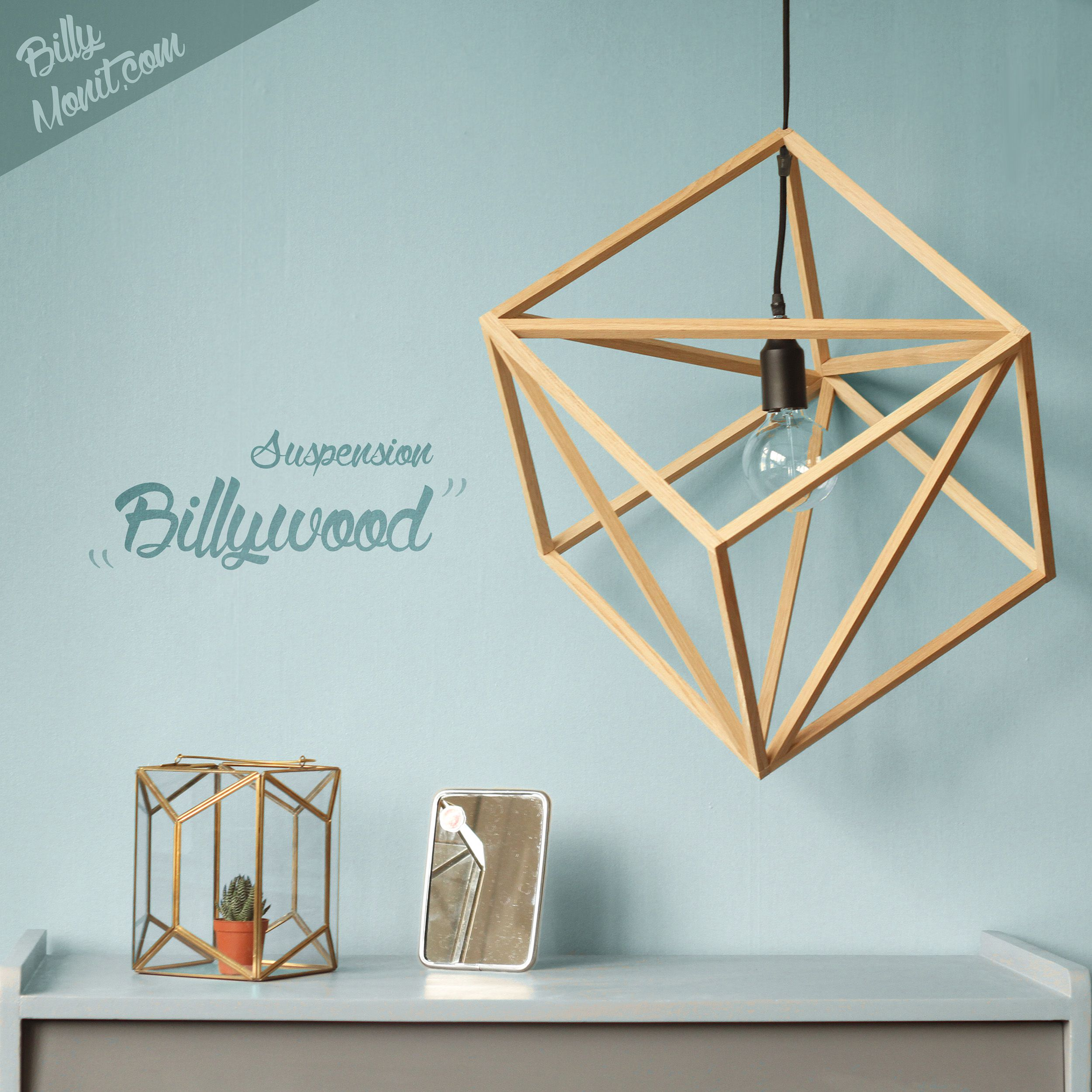 Suspension BillyWood Décoration Intérieure