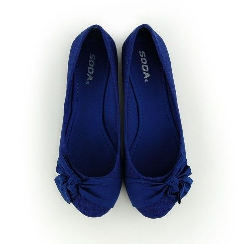 Blue Flat Shoes For My Something Blue