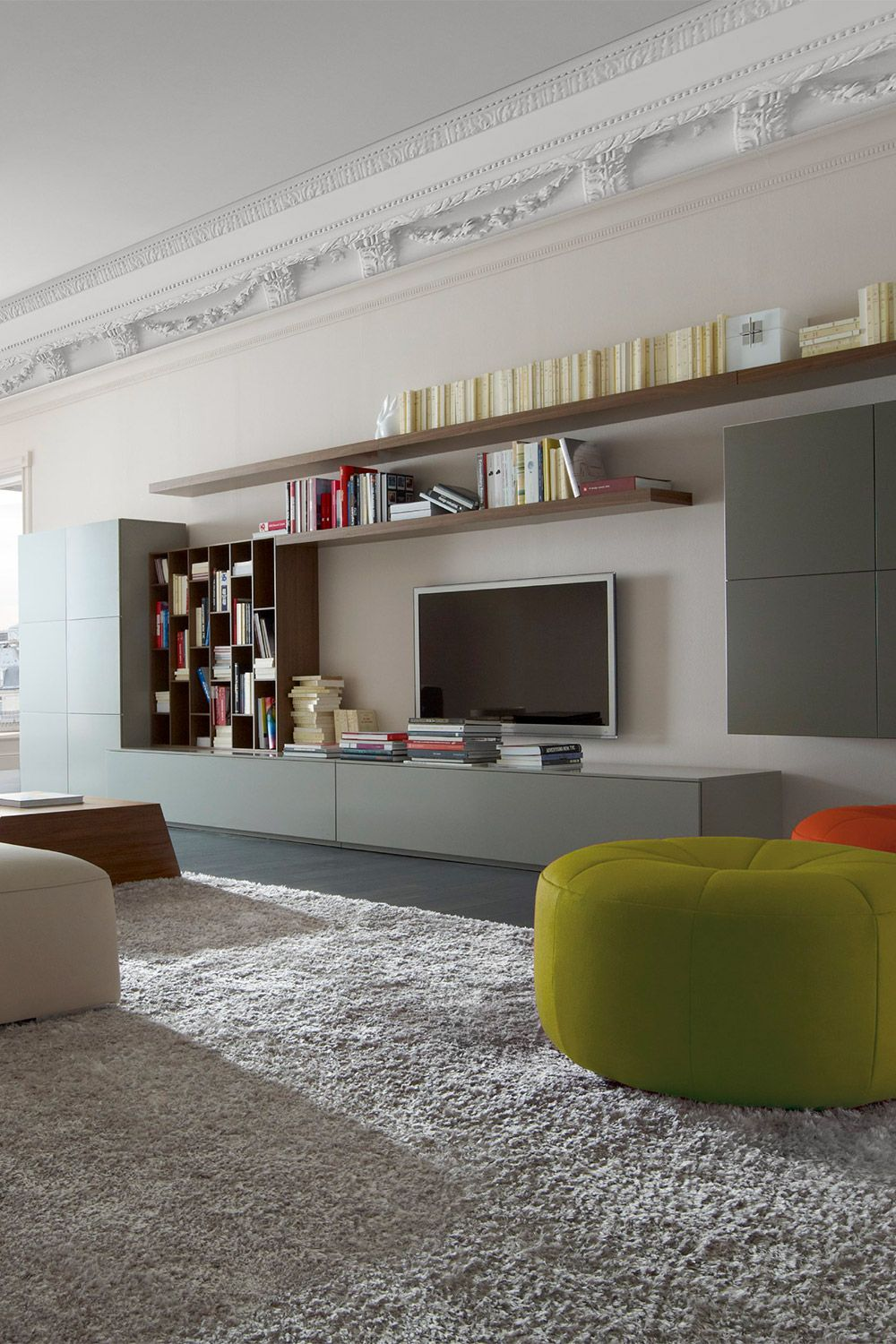 Book Look Wall System Designed By Pagnon Pelhaître For Ligne Roset Available At Linea Inc Modern Furniture Los Angeles Info
