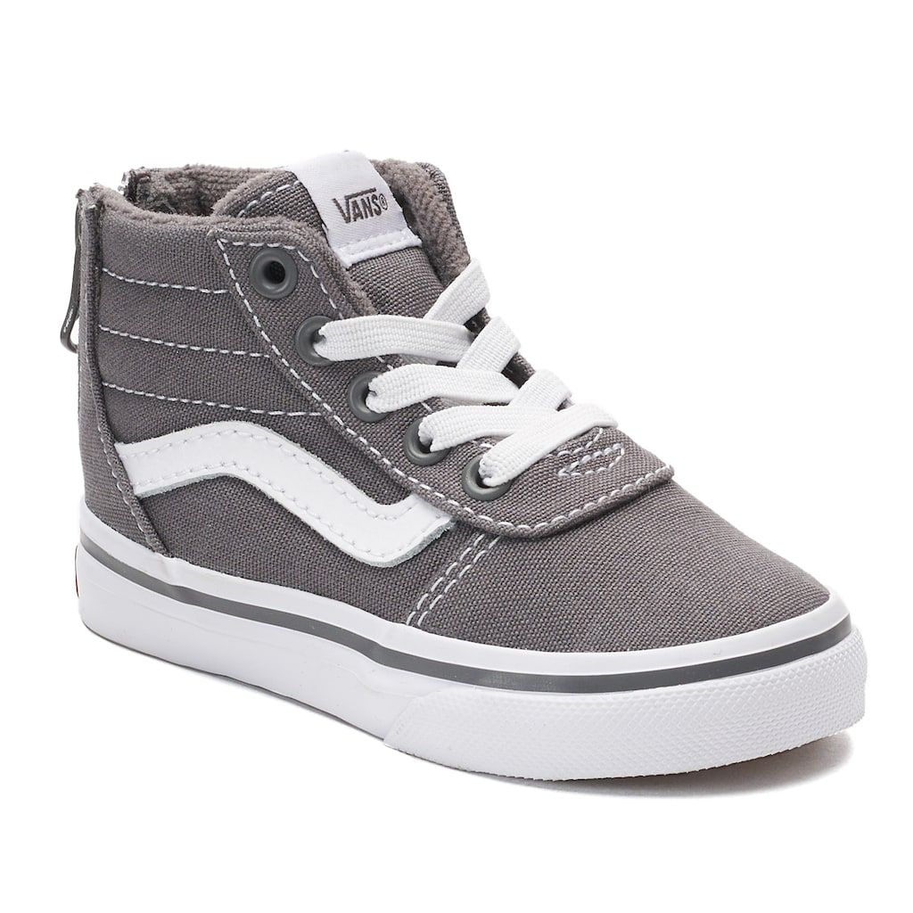 a6d9d170696c Vans Ward Zip Toddlers  High Top Sneakers