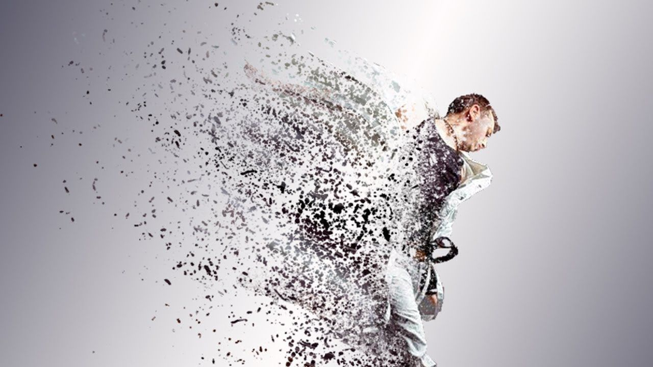 Dispersion Effect Explode Photoshop Tutorial Cs6 Cc