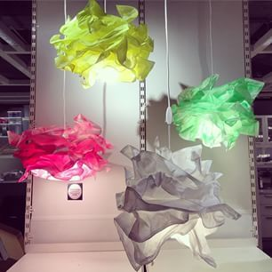 Love This Krusning Lamp From Ikea It Looks Like A Paper Cloud