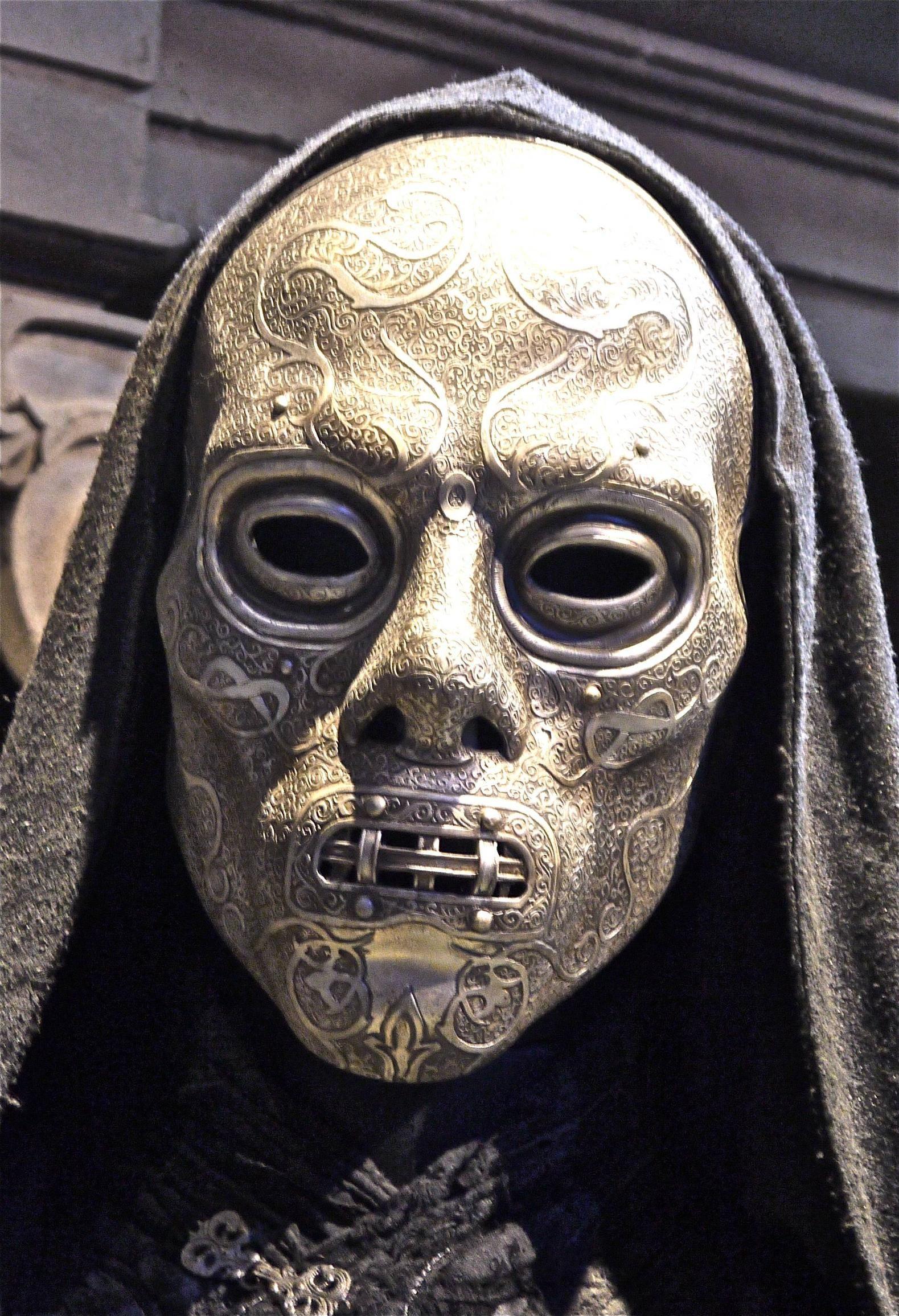 Death Eater Mask | Masking, Death and Masks art