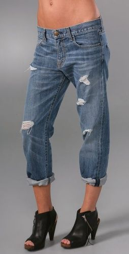 These Current/Elliott #jeans are effortless style in a nutshell