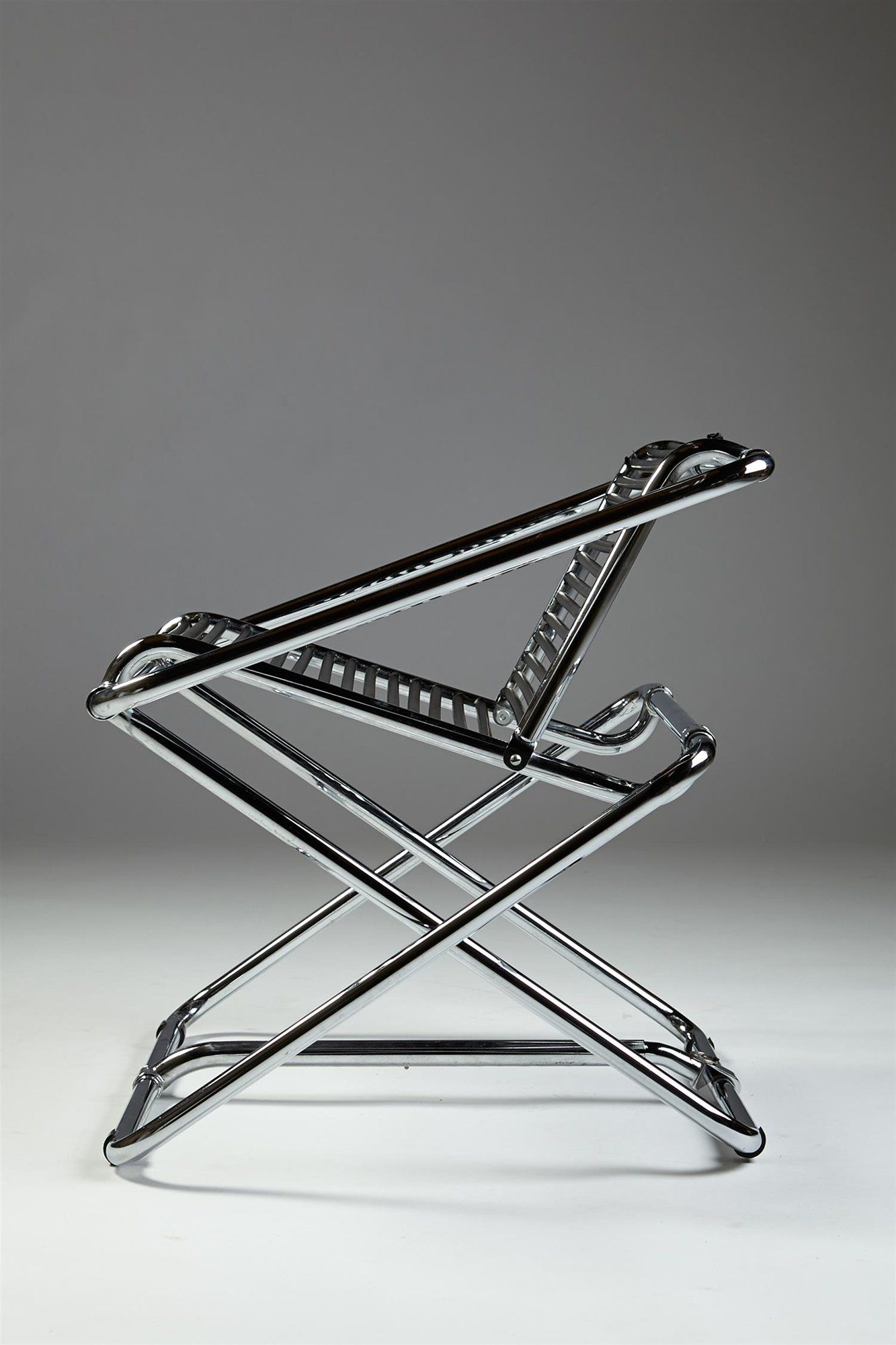 Rocking chair, designed by Ron Arad for One Off, England. 1980's. — Modernity