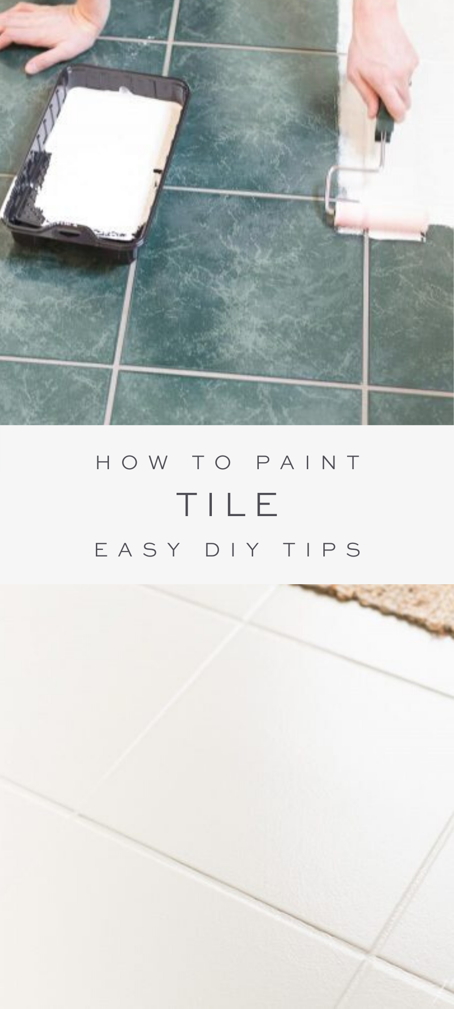 Can You Paint Ceramic Tile Yes And I M Sharing Everything You Need To Know About Tile Paint Including Where To Pur In 2020 Painting Tile Painting Ceramic Tiles Tiles