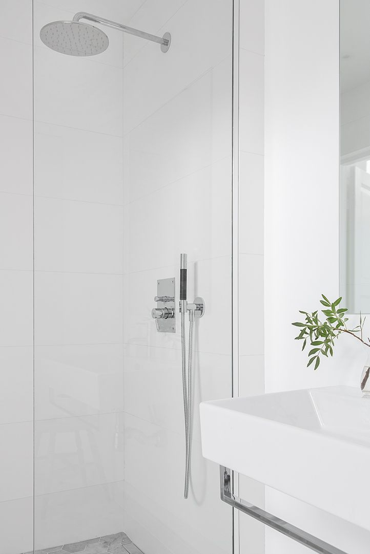 Mooie Scandinavische badkamer van 5,25m2 | Woonideeën | Pinterest ...