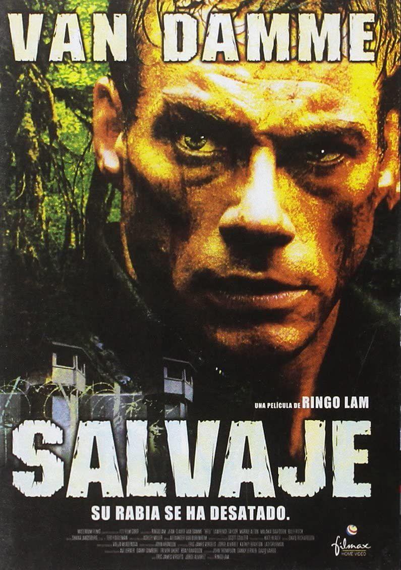 Salvaje Dvd Amazon Es Jean Claude Van Damme Ringo Lam Jean Claude Van Damme Cine Y Series Tv Película Salvajes Peliculas De Accion Dvd