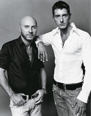 Domenico Dolce (left) born on August 13, 1958 in Sicily, & Stefano Gabbana, born on November 14, 1962 in Milan, met in 1980, and in 1985 showed their first women's collection in Milan.