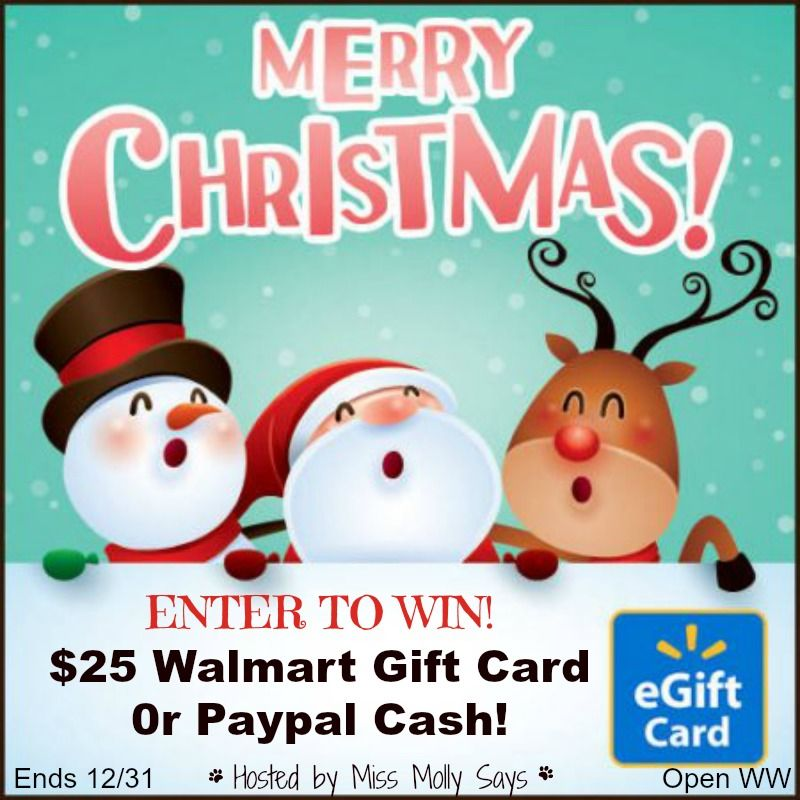 Win a $25 Walmart Gift Card or Paypal Cash | Giveaways (Pet ...