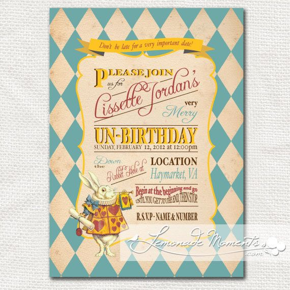Mad hatter tea party 1st birthday invitations drive alice in wonderland invitation first birthday invitation mad hatter tea party printable for filmwisefo