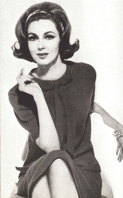 Laney Dress • 1960s Knitting Knit Sweaterdress Sweater Top Skirt ...