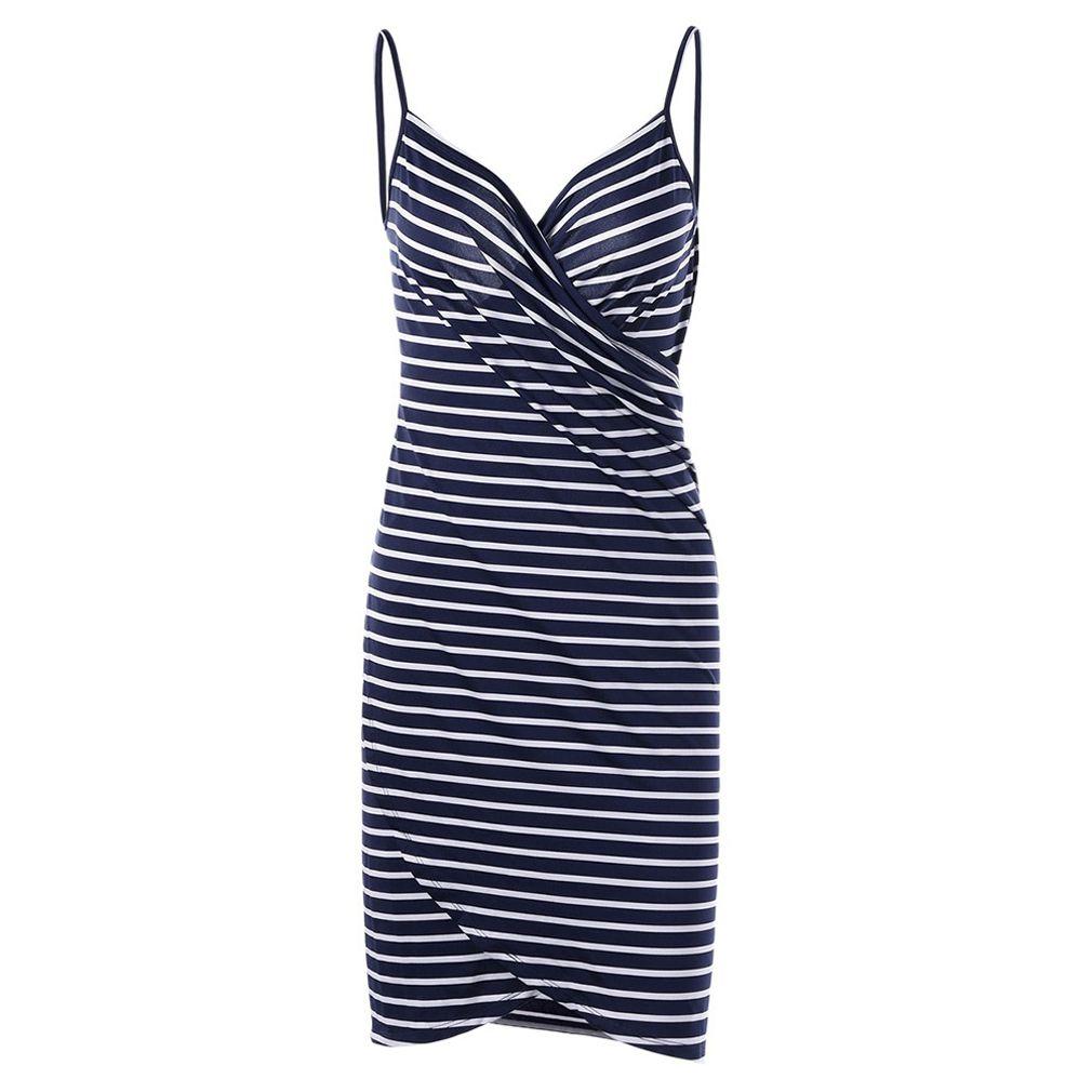 3f9f69d577b3d 2019 New Style Fashion Hot Women Stripe Sling Backless Swimwear ...