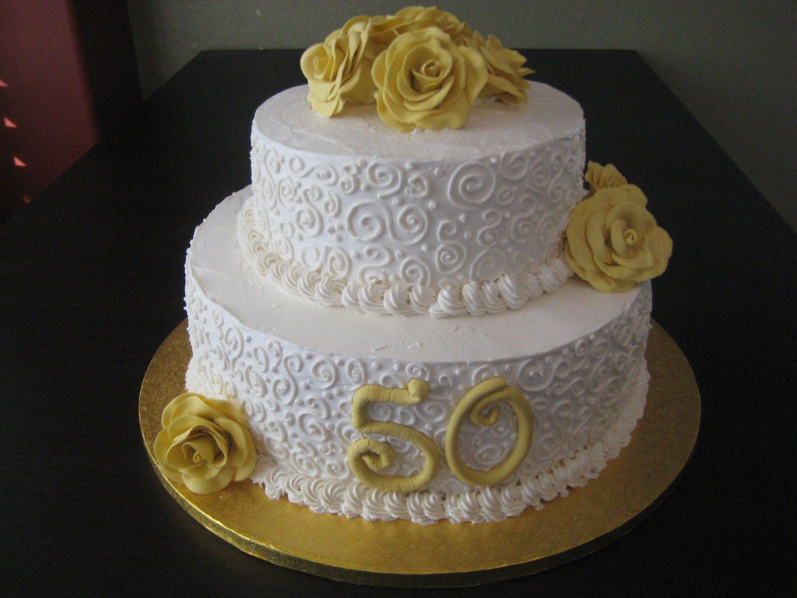 50th Anniversary Cakes Ideas