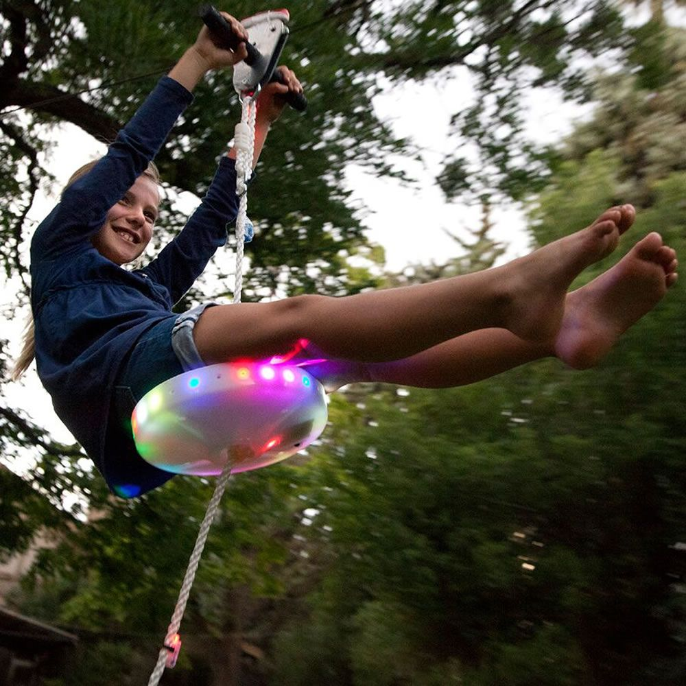 The day and night backyard zipline outdoor in pinterest