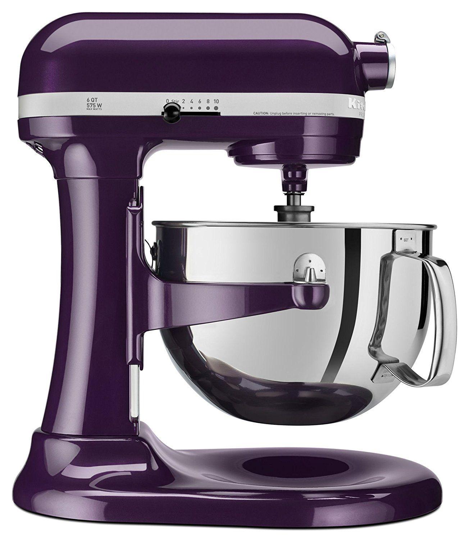Plumberry Purple Kitchenaid Professional 600 Series mixer  A