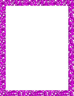 Purple Glitter Border | Page Borders | Pinterest | Purple ...
