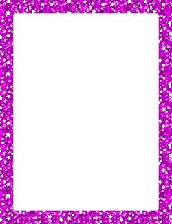 Purple Glitter Border | Page Borders | Pinterest | Purple ...