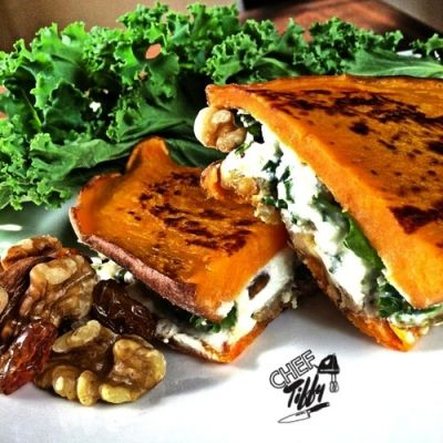 Ripped Recipes - Sweet Potato Grilled Cheese