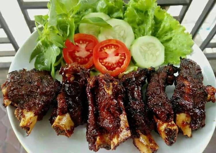 Resep Iga Bakar Madu Oleh Zyvara S Early Resep Resep Iga Resep Resep Masakan