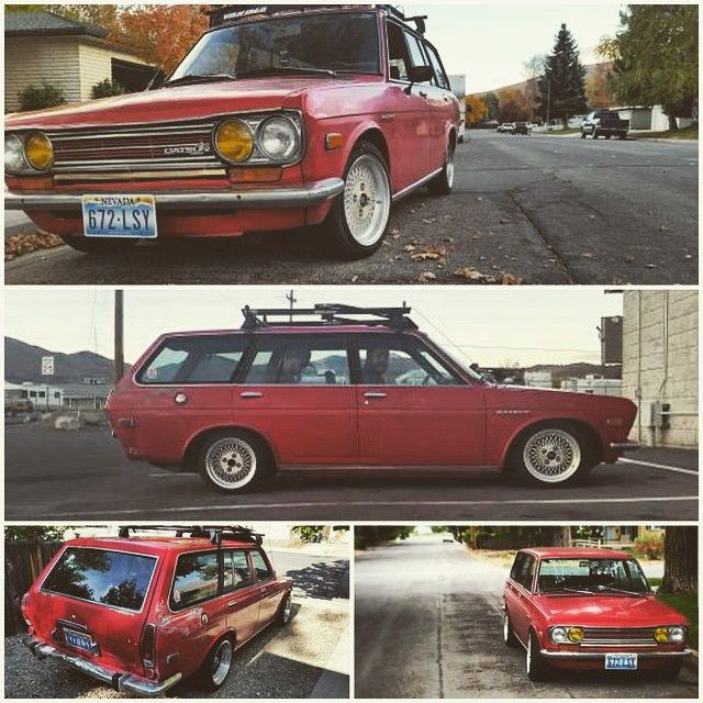 Pin by Casey on Nissan/Datsun Datsun 510, Wagons for