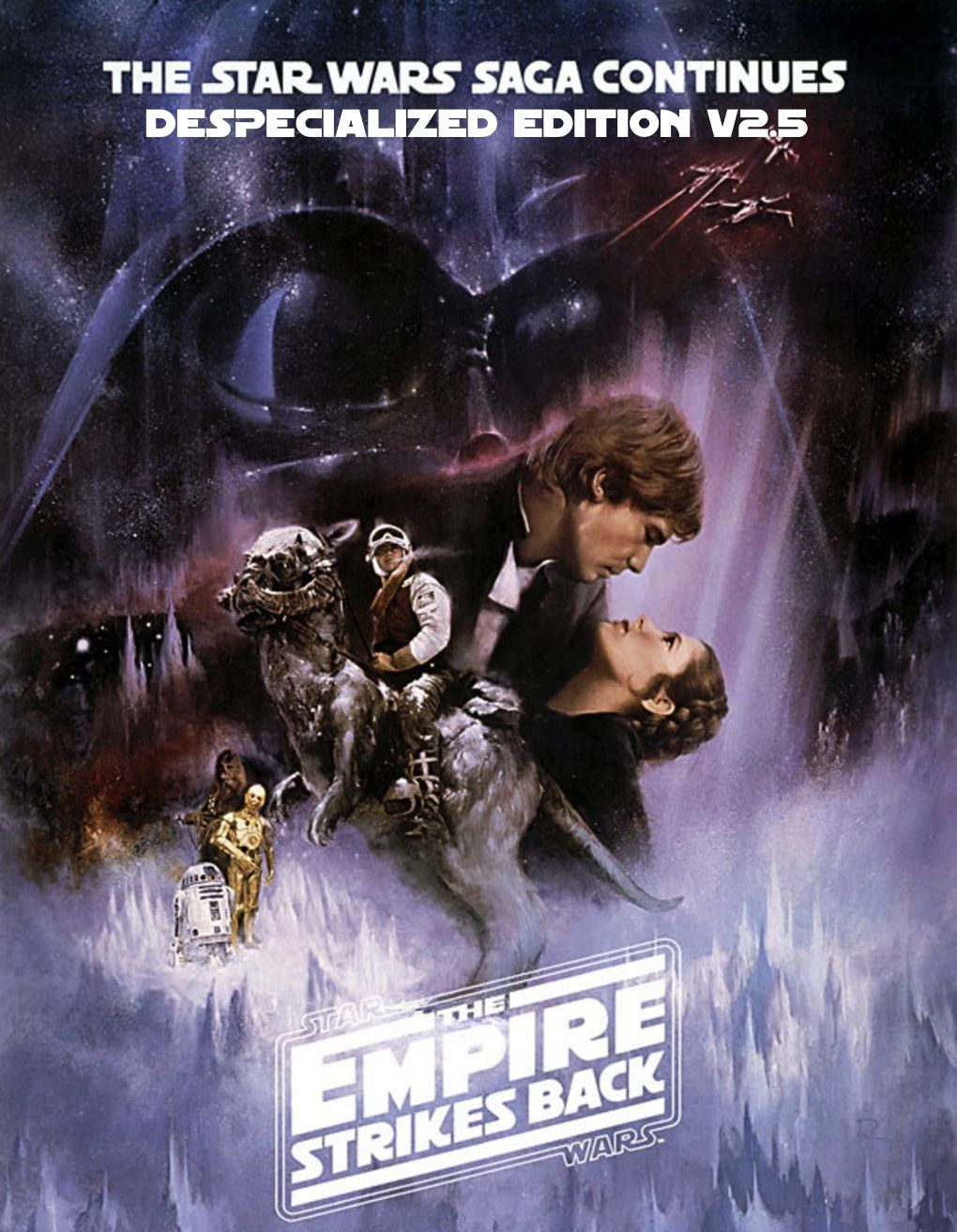 Empire Strikes Back Despecialized Poster Star Wars Movies Posters Star Wars Movie Empire Strike