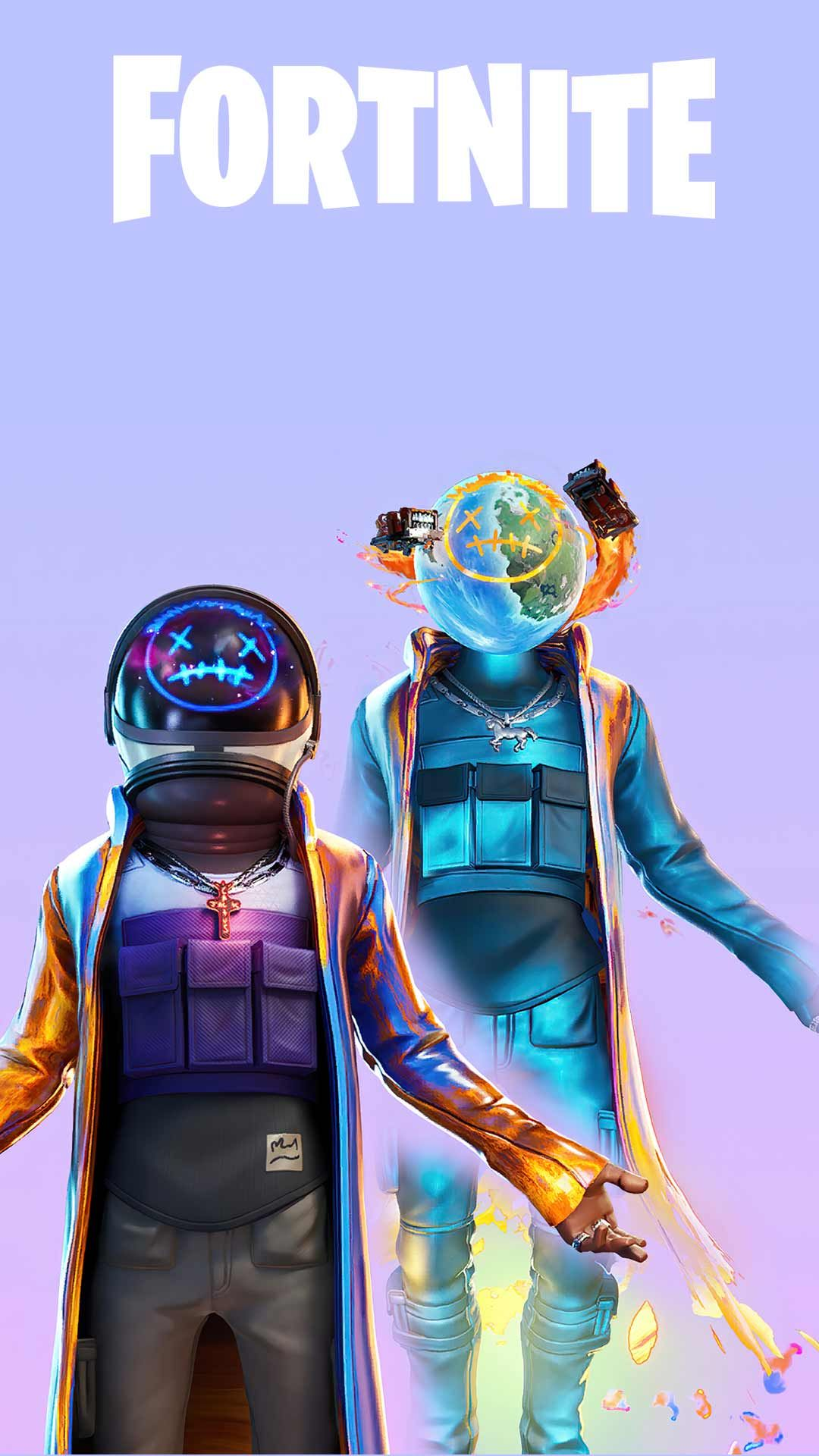 Astro jack fortnite skin wallpaper HD phone backgrounds