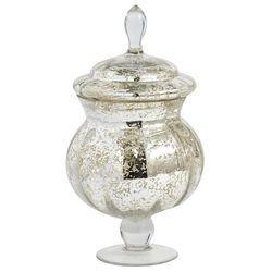 Mercury Glass Apothecary Jar Small Apothecary Jars Glass