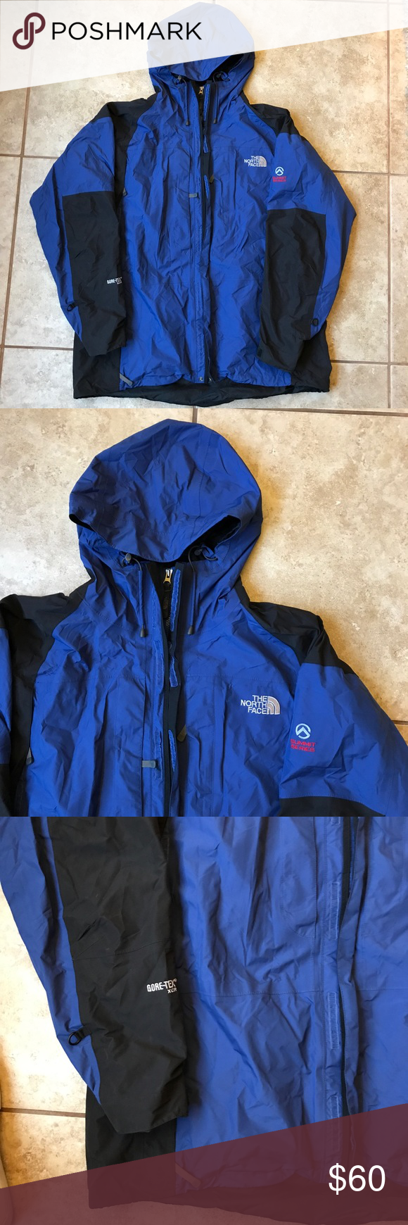 The North Face Blue Summit Series Snow Jacket Snow Jackets Women Snow Jacket Blue Black Color [ 1740 x 580 Pixel ]