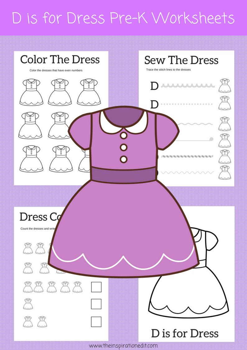 Letter D Preschool Printables And Art Activity | Kids - Preschool ...