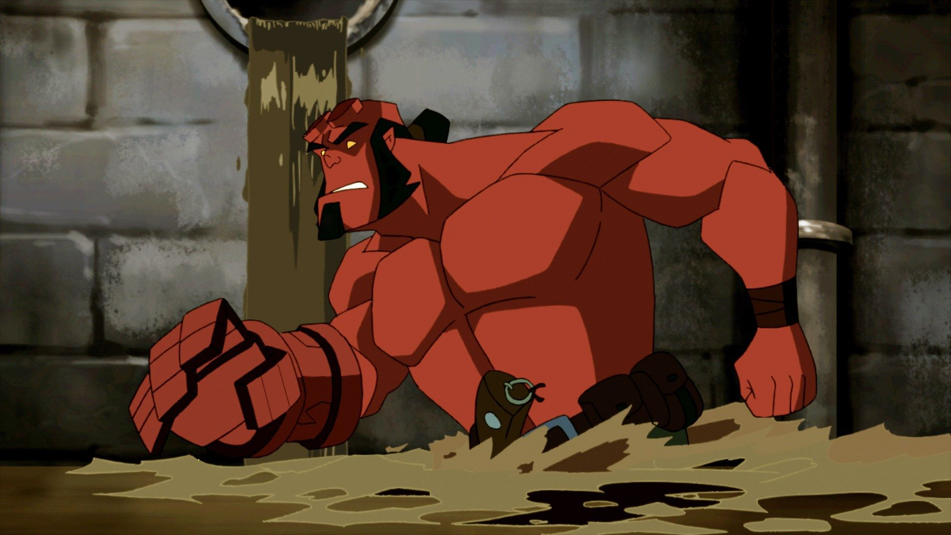 1920x1080 High Resolution Wallpaper = hellboy blood and iron