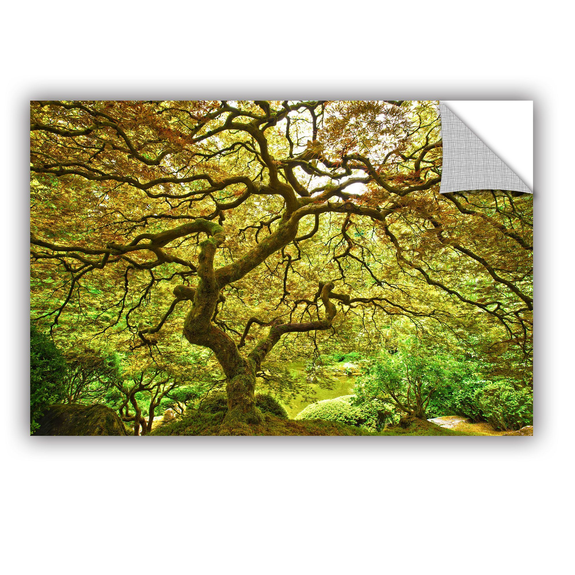 ArtWall Cody York \' Portland Japanese Garden 1 \' Art Appealz ...