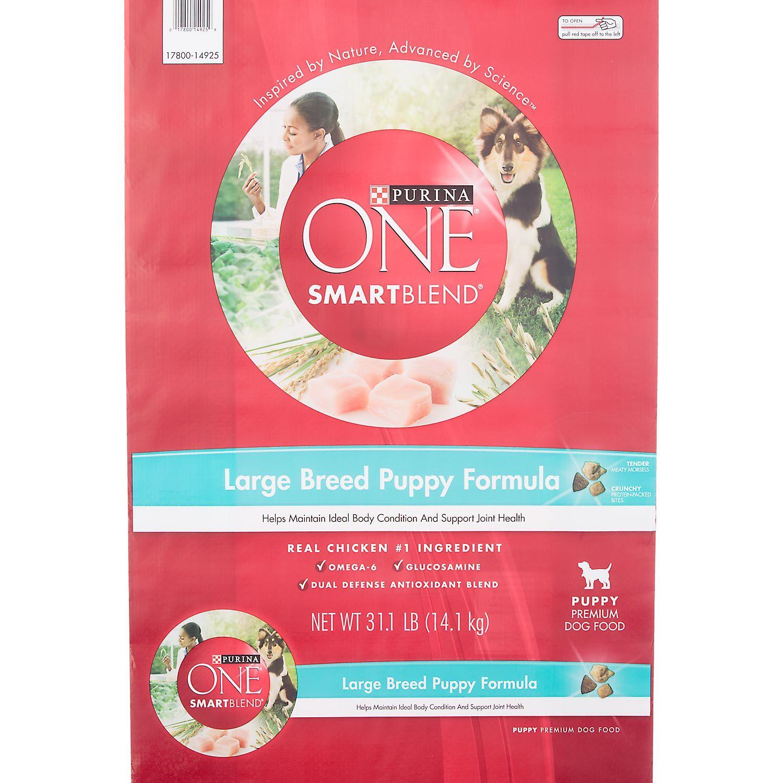 Purina ONE Natural SmartBlend Formula Large Breed Dry
