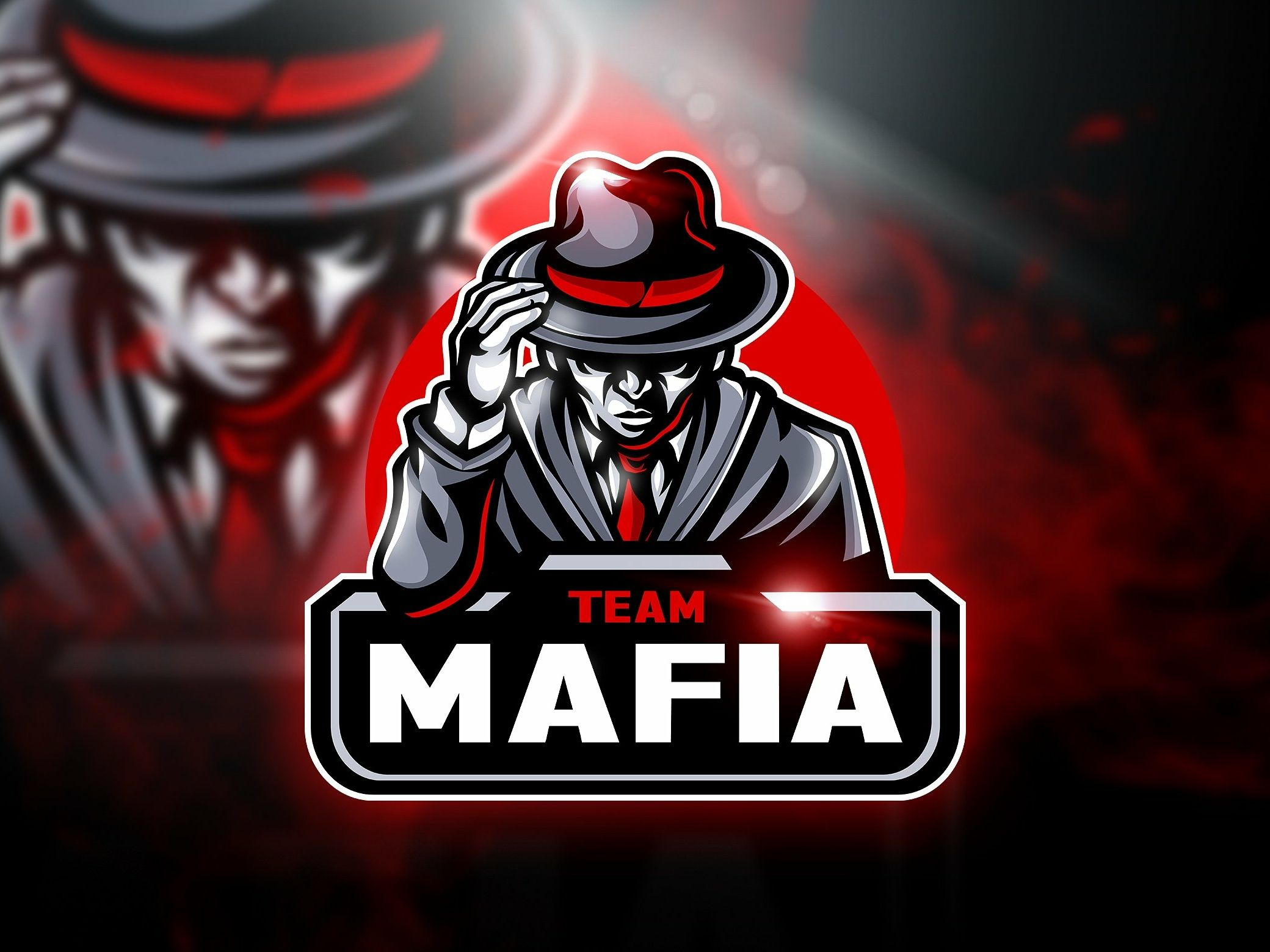 Mafia Team Mascot & Esport Logo in 2020 Team logo