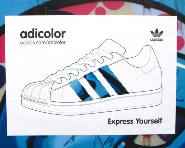 Skalk As acre  Adidas: Adicolor Blue   Ads of the World™   Adidas wallpapers, Adidas,  Award poster