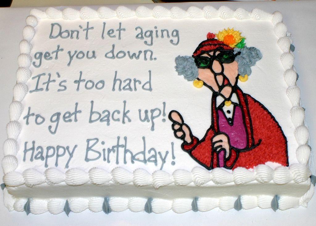 Maxine Funny Birthday Cakes 65th Birthday Party Ideas