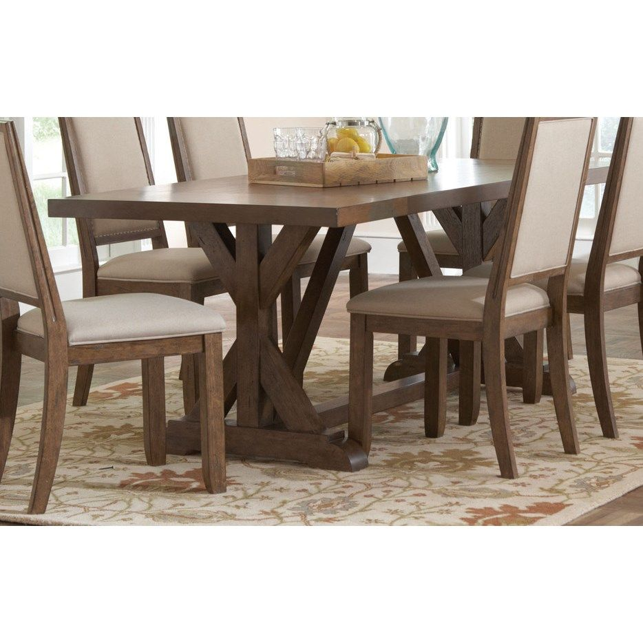 Coaster furniture 105521 bridgeport dining table in weathered acacia