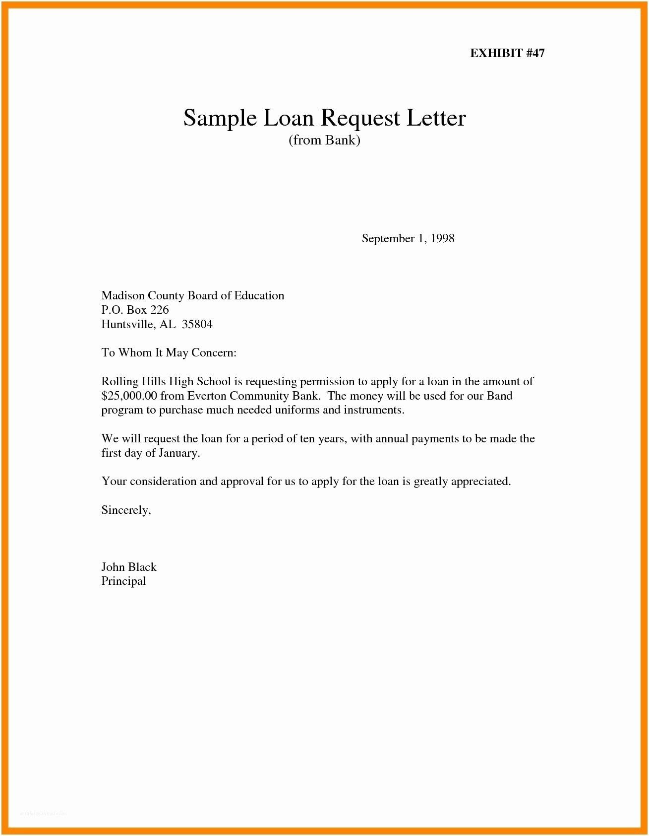 New Letter Format For Request Permission Letter Template Word