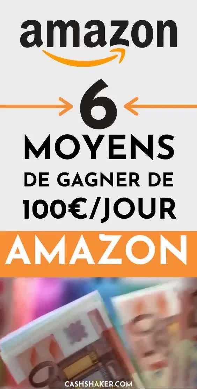 Comment gagner de l'argent avec Amazon en 2020 ?
