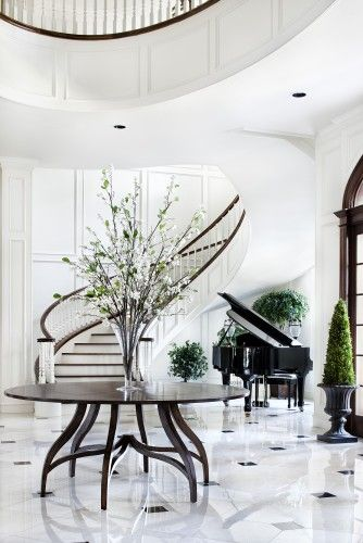 Stunning Entry Foyer But Way Too Glam For Everyday Life In The
