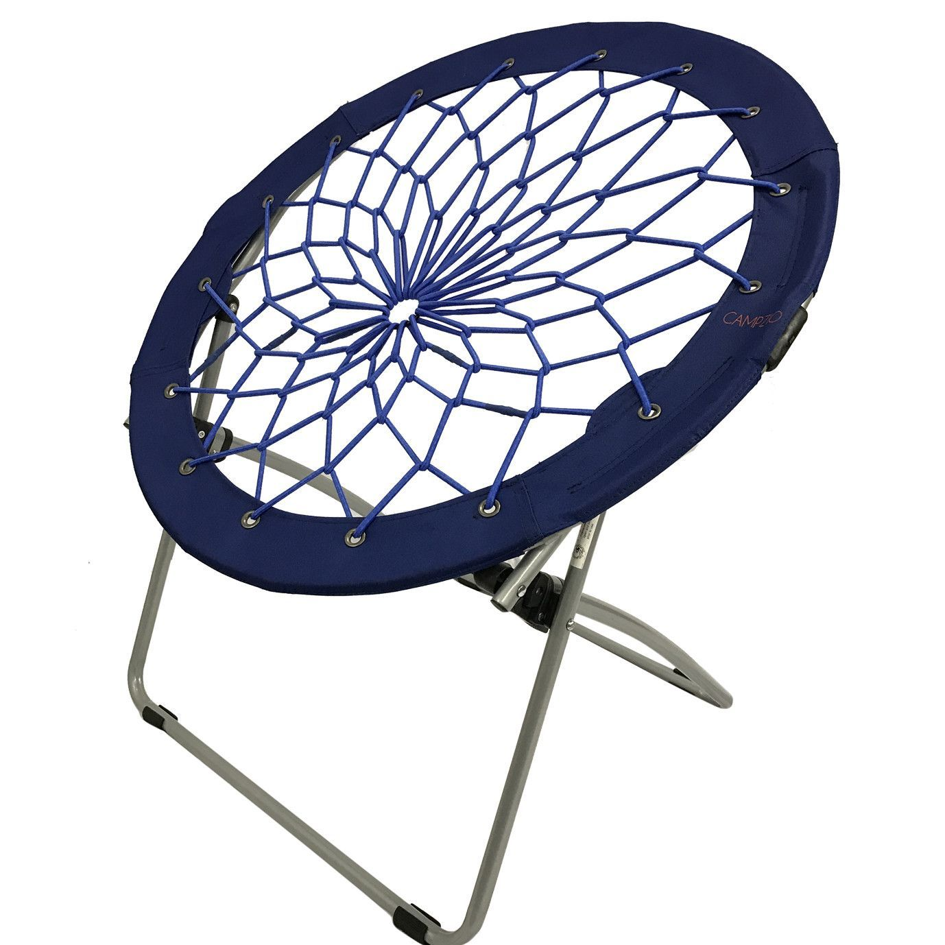 Round Comfy Chair Campzio Bungee Chair Round Folding Comfortable Lightweight