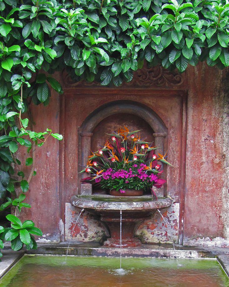 Beautiful Fountain, Antigua, Guatemala