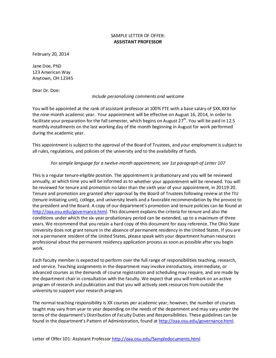 Doc offer letter template free word pdf format sample home doc offer letter template free word pdf format sample spiritdancerdesigns Gallery