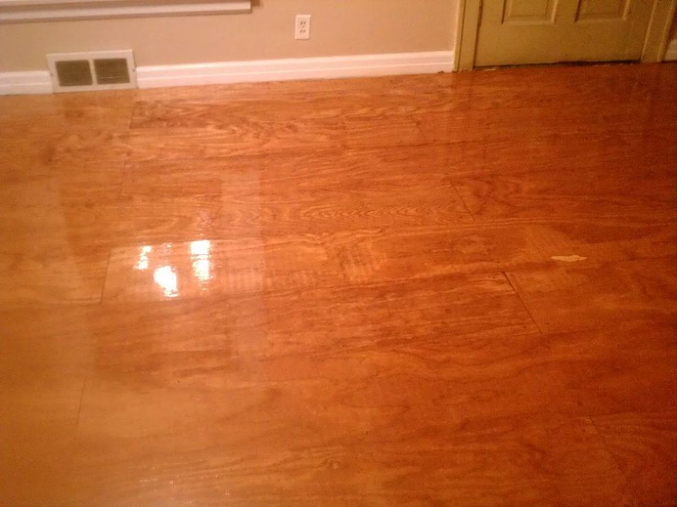 When You Can T Do Real Hardwood Diy Wood Floors Diy